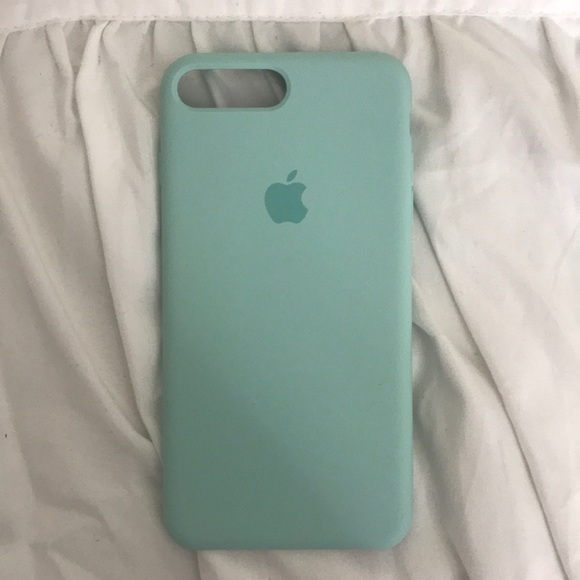 detailed look 5523f 96905 Apple Silicone Case / Marine Green
